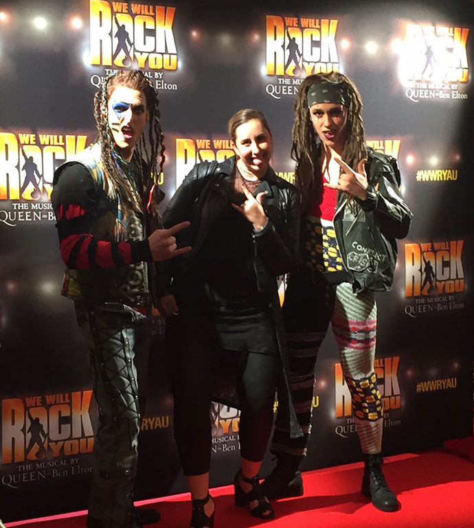 we will rock you Melbourne