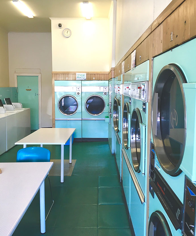 vintage laundrette