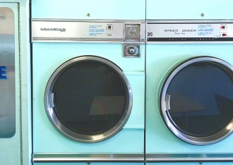 retro laundrymat laundrette