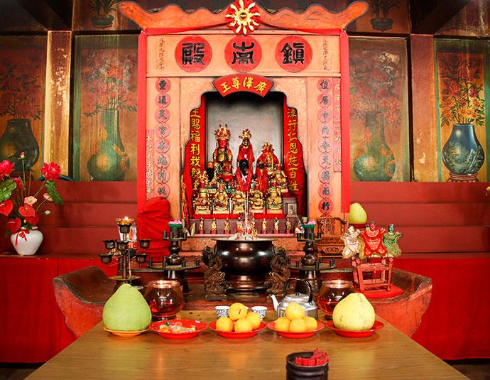 Tien Nam Shi temple Sabah