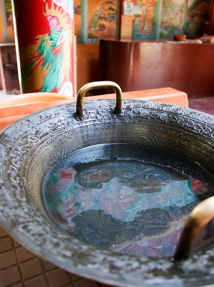 dancing water bowl