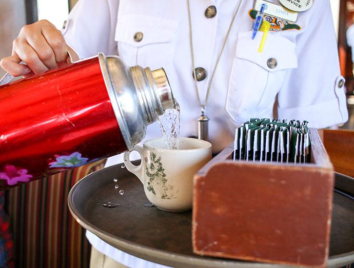 sabah tea on the North Borneo Railway