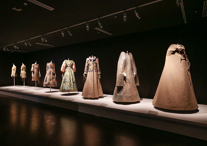Installation view of Viktor&Rolf: Fashion Artists at the National Gallery of Victoria. Photo: Wayne Taylor
