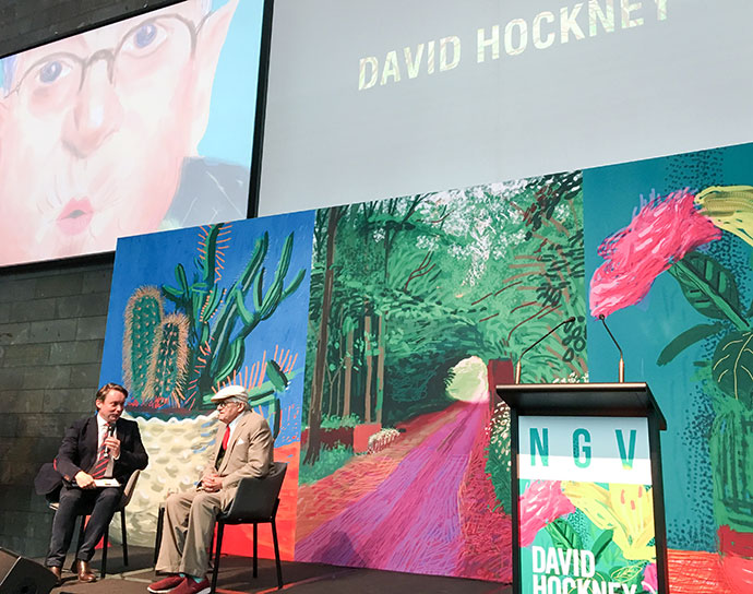 david hockney ngv art