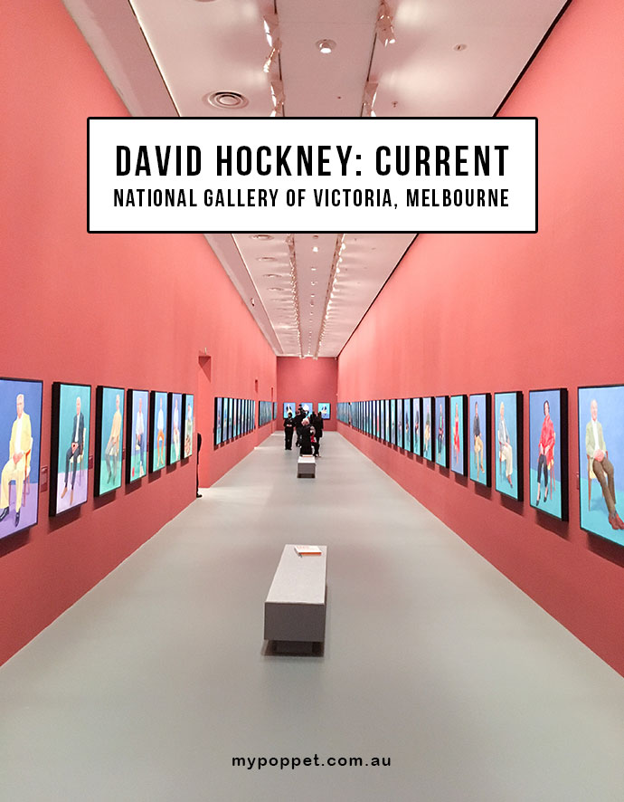 David Hockney - Current NGV International Melbourne Australia