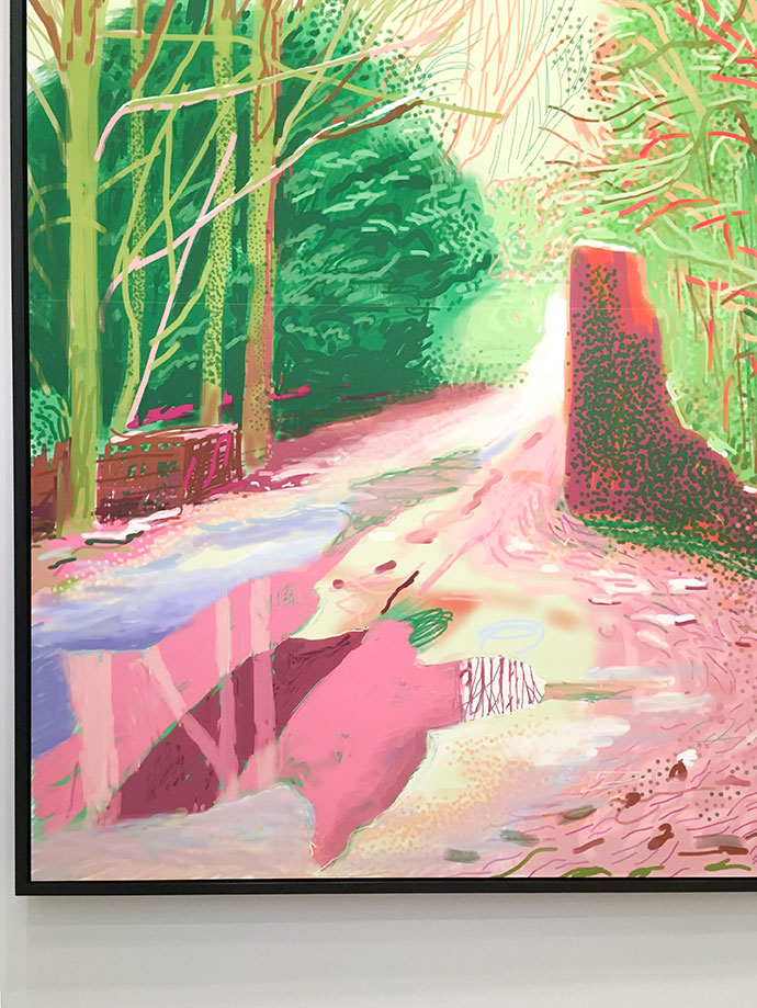 DAVID HOCKNEY: CURRENT  WHERE: NGV International, 180 St Kilda Road, Melbourne, Australia  WHEN: 11 November 2016 – 13  March 2017.