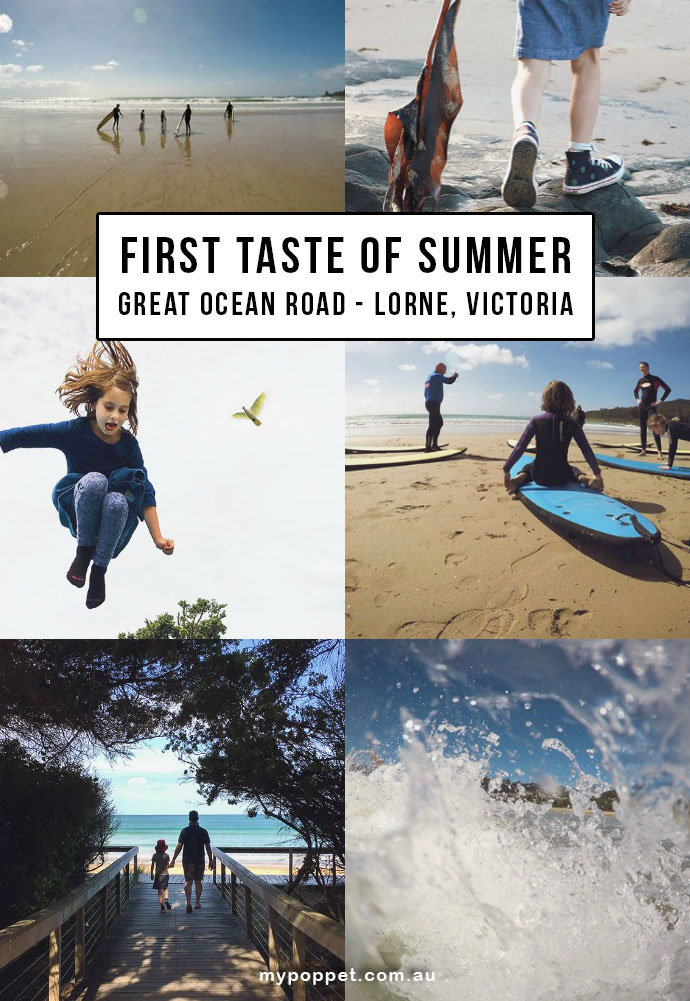 Summer holiday- Lorne - Great Ocean Road, Victoria Australia mypoppet.com.au