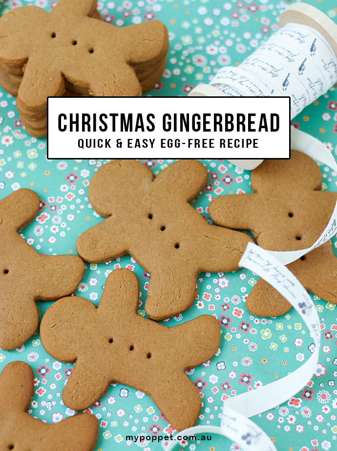 Easy Gingerbread Recipe - Egg Free -