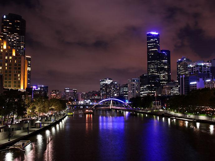 Melbourne by night mypoppet.com.au