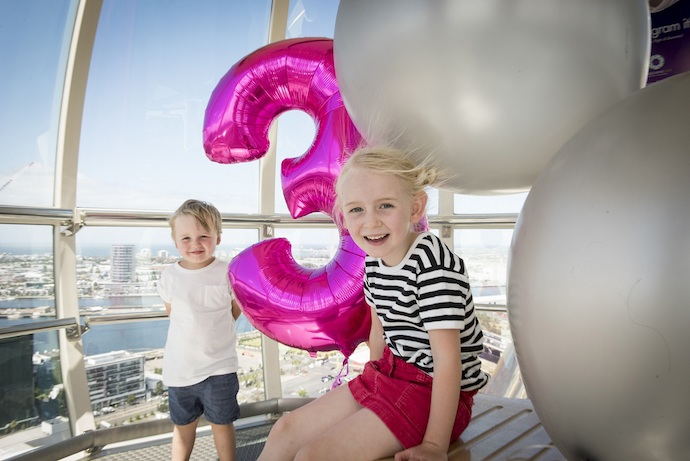 Melbourne star observation wheel - Win a family pass
