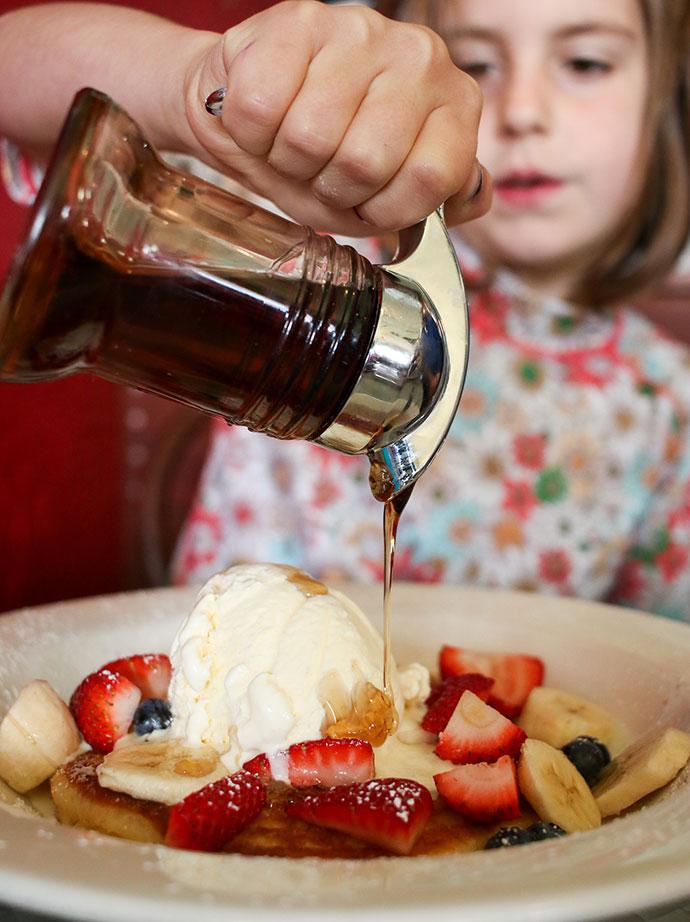 Kids menu - where to eat lorne - great ocean road