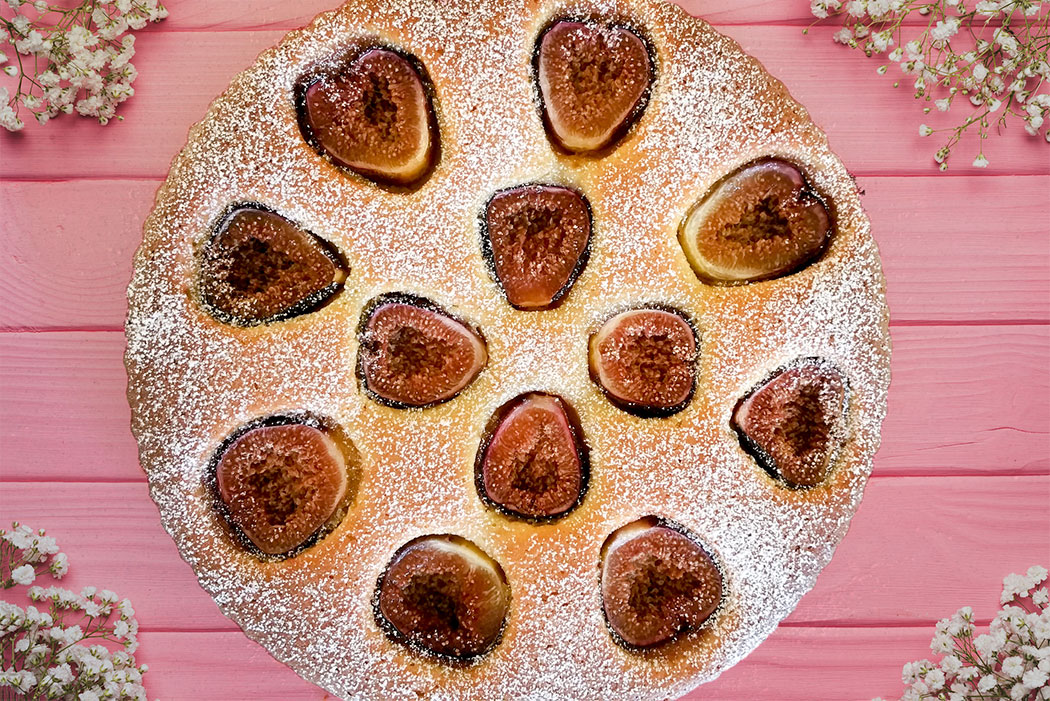 FIg and Almond Tart Recipe - mypoppet.com.au