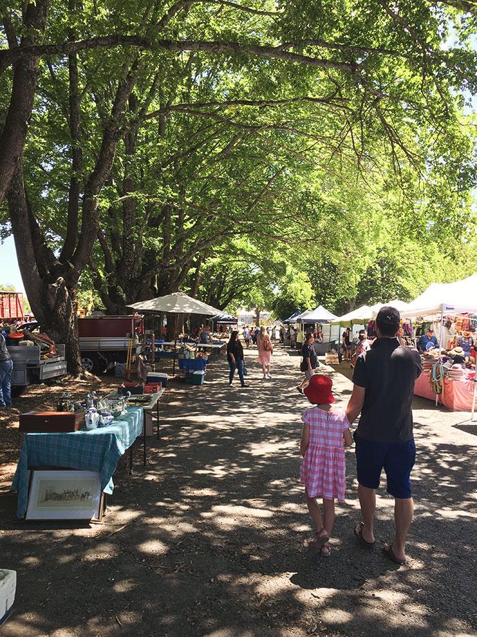 daylesford sunday market