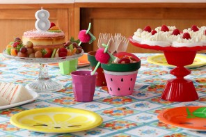 Emma's Fruit Themed Afternoon Tea Birthday Party