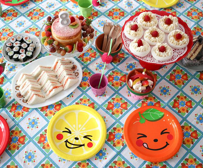afternoon tea birthday party foodideas