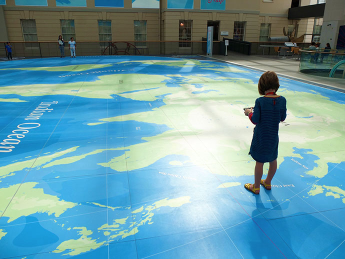Royal Naval museum London Greenwich for kids - mypoppet.com.au