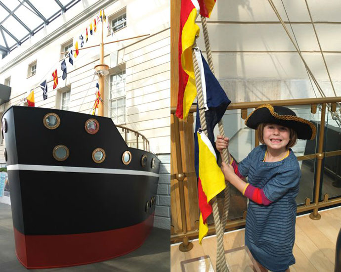 National Maritime Museum Greenwich London with kids - mypoppet.com.au