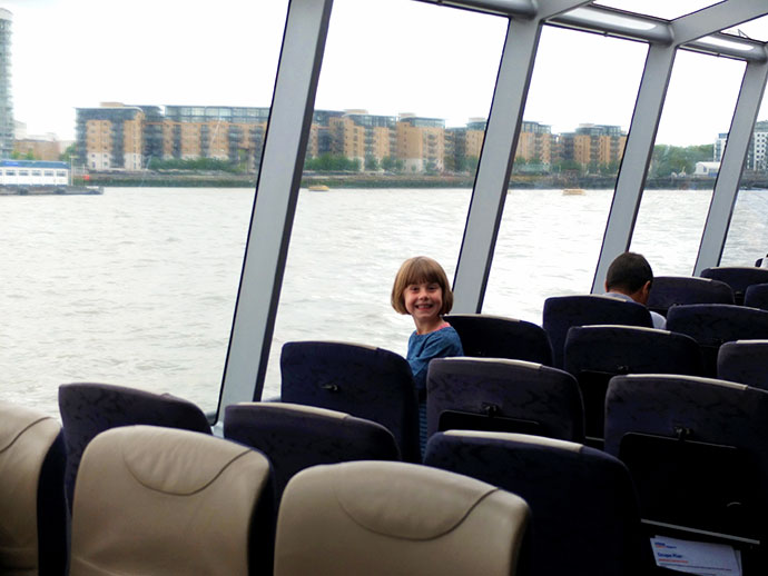 Thames Waterbus - london