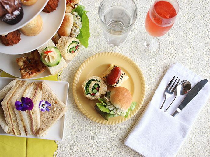 Savoury tea time treats Time & Tide Tea rooms - Port Fairy Victoria - High tea review -mypoppet.com.au