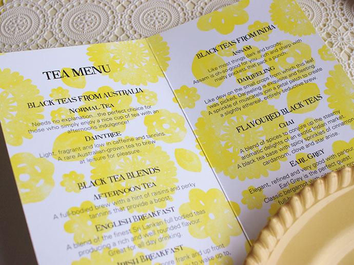 Time & Tide Tea rooms - Port Fairy Victoria - High tea review, tea menu -mypoppet.com.au