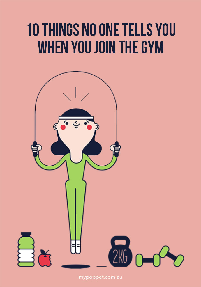 What you need to know before joining a gym - mypoppet.com.au