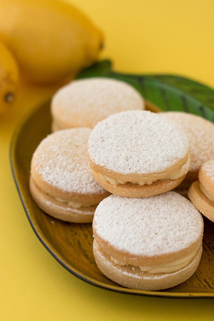 Lemon cream filled biscuit recipe - mypoppet.com.au