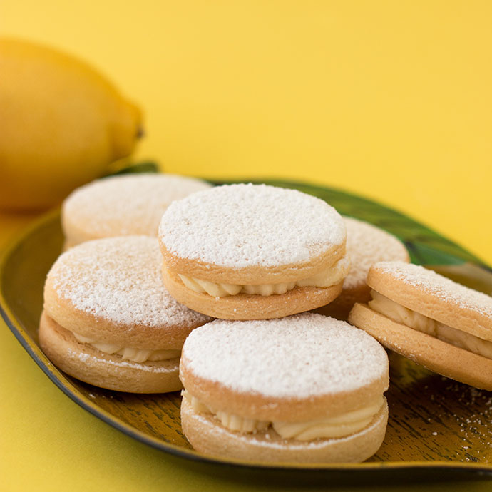 Recipe - Lemon Buttercream sandwich cookies mypoppet.com.au