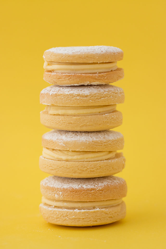 Recipe - Lemon Cream Sandwich biscuits cookies mypoppet.com.au