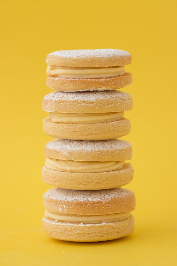 Recipe - Lemon Cream Sandwich biscuits cookies mypoppet.com.au