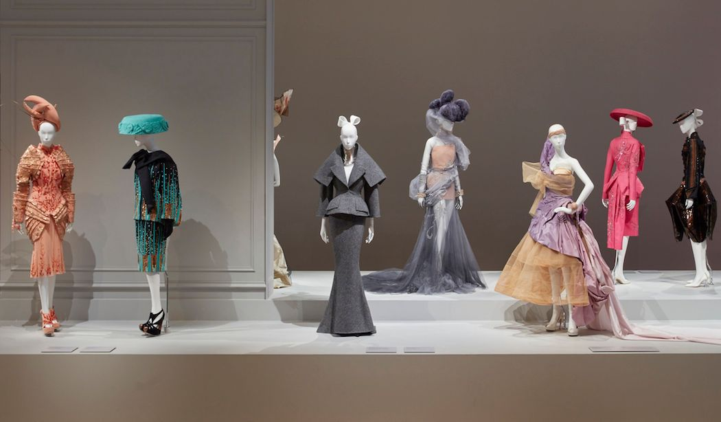 Installation view of The House of Dior: Seventy Years of Haute Couture at NGV International, 27 August–7 November 2017 Photo: Sean Fennessy