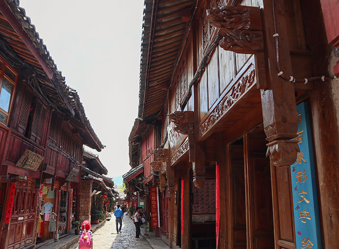 Old Town Lijiang China - mypoppet.com.au