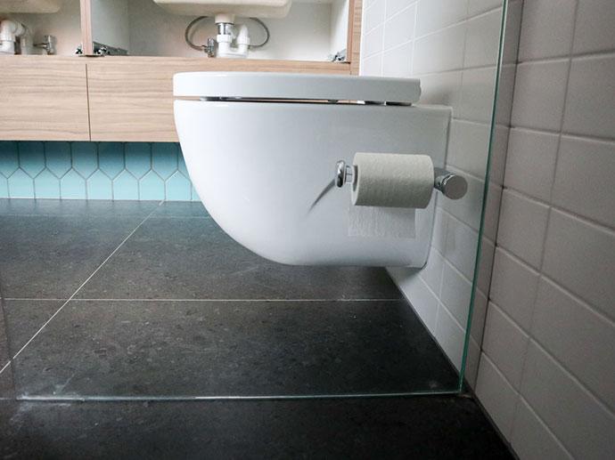 wall mounted toilet pan