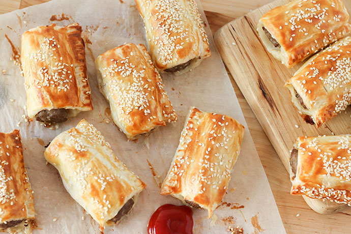 best ever sausage roll recipe mypoppet.com.au