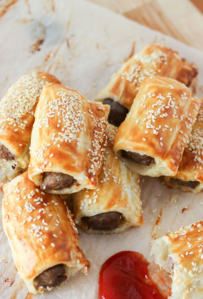 You'll love this easy to make Sausage Roll recipe - mypoppet.com.au