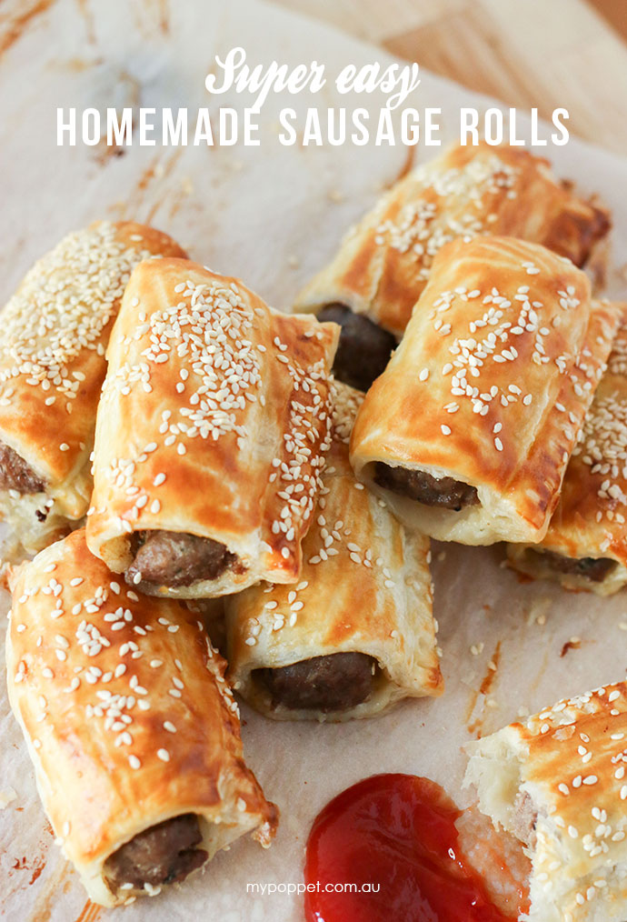 Best ever Sausage Roll Recipe - mypoppet.com.au