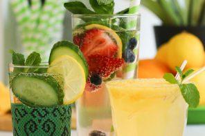 summer drink recipes with soda stream