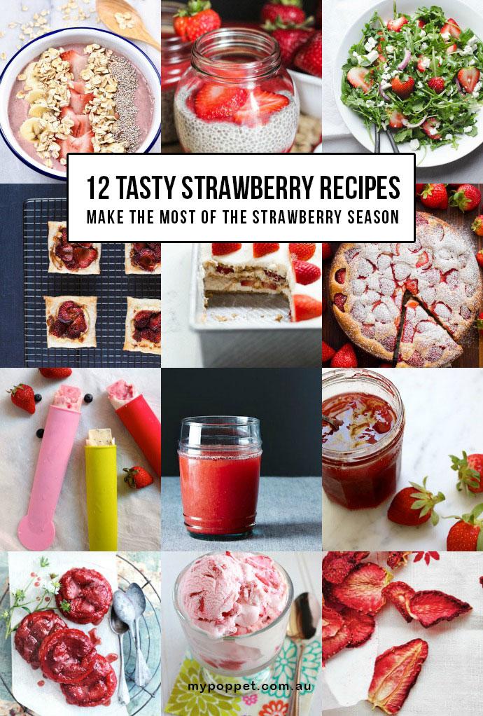 Best ever strawberry recipes - mypoppet.com.au