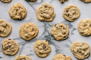Best Ever Chewy Choc Chip Cookies
