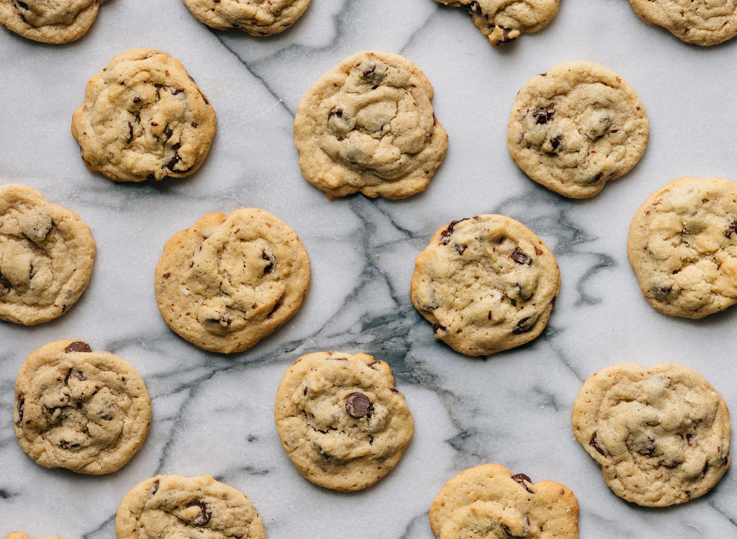 Best ever Chewy choc chip cookies recipe - mypoppet.com..au