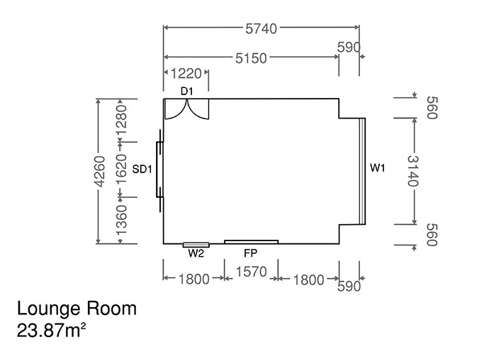 lounge room plans