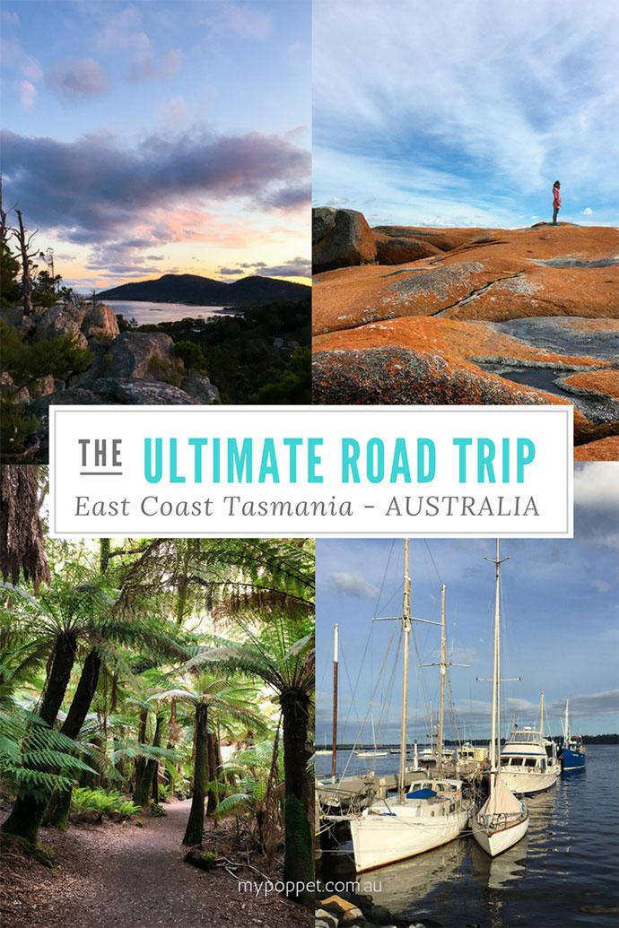 East Coast Tasmania - Road Trip Itinerary - mypoppet.com.au