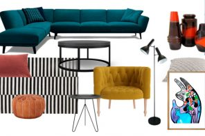Lounge Room Refresh: Design Mood Board