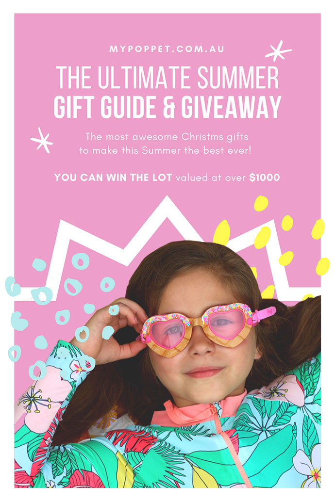 Summer Fun Christmas Gift Guide & Giveaway 2018 mypoppet.com.au
