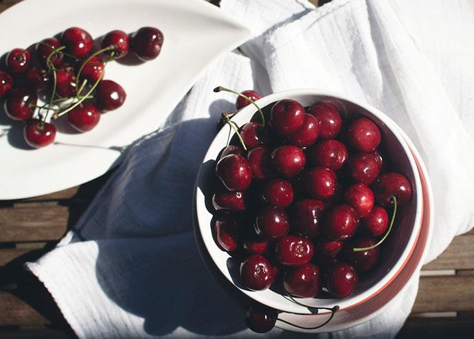 bowl of cherries