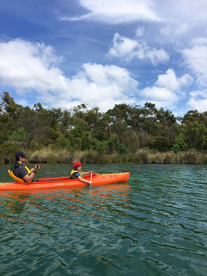 Anglesea Paddle boat & canoe hire - mypoppet.com.au