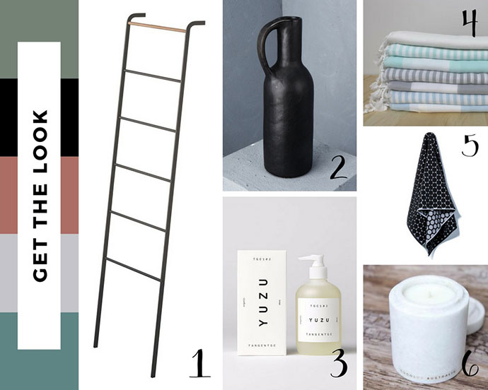 Bathroom moodboard shopping links - mypoppet.com.au