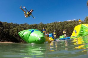 Yarra Valley's First Inflatable Water Park – Parky's Healesville