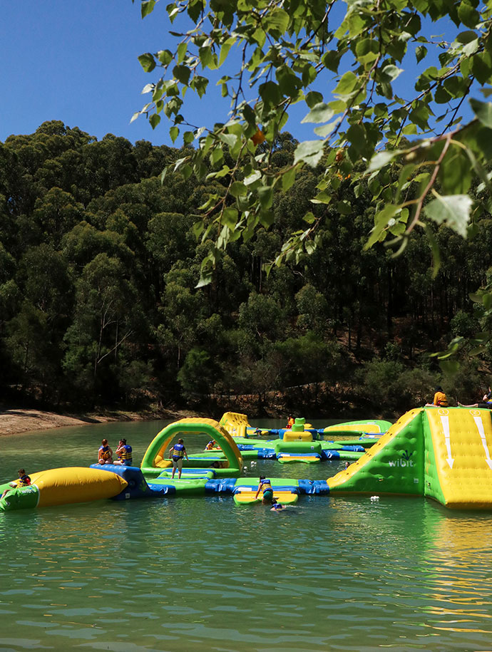 Yarra Valley inflatable water park review - mypoppet.com.au