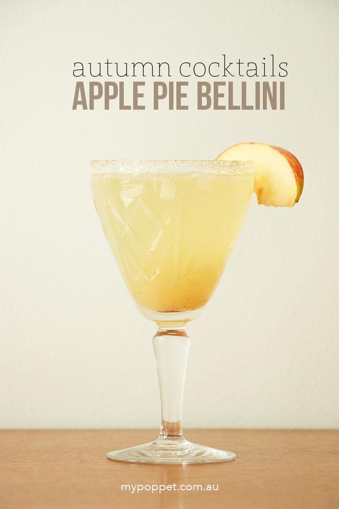 Apple Pie Bellini recipe - mypoppet.com.au