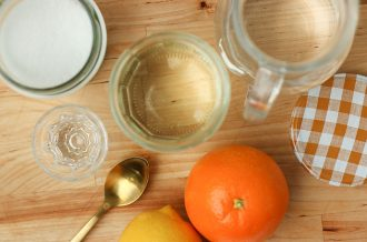 How to make simple syrup - sugar syrup recipe - mypoppet.com.au